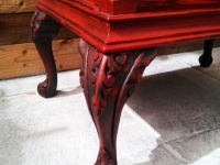 Chinoise-style side table