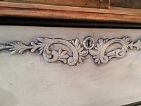 Country Grey Antique Dresser