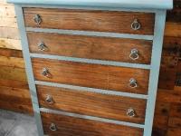 Smokey Blue Dresser