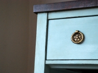 Duck Egg Blue bookcase