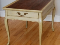 Two-tone side table