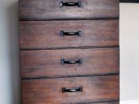 Industrial chic dresser