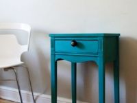 Vintage table in Annie Sloan Chalk Paint Florence