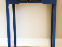 Blue Hallway Table