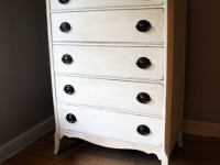 Tallboy in Old White with original hardware