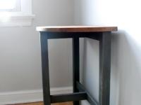 Modern half-moon table