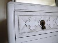 Graceful Grey Dresser