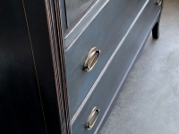 Deep Blue Mahogany Dresser