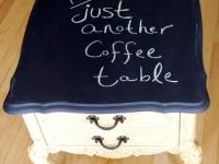 Funky Chalk Board Top Table