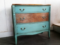 Provence Stenciled Mahogany dresser