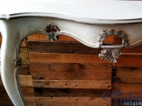 Super curvy Italian half-moon table