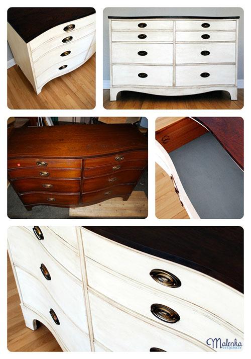 Bow Front Dresser | Malenka Orginals