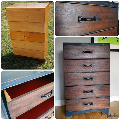 Indistrial Chic Dresser | Malenka Originals