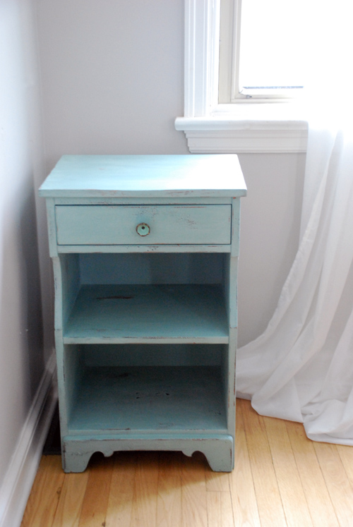 Duck Egg Blue cupboard/sidetable