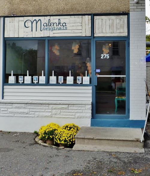 Malenka Originals Shop Front