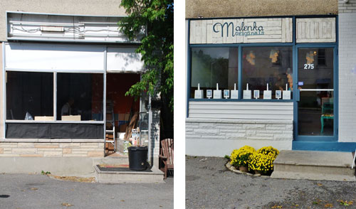 Malenka Originals Before and After
