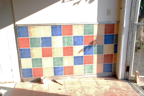 Tiles Before