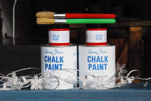 Chalk Paint™ Christmas - Emperor's Silk and Antibes Green