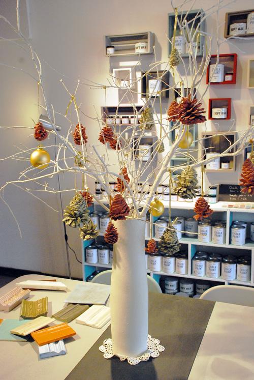 Malenka Originals Christmas 2012 Pine Cone Tree