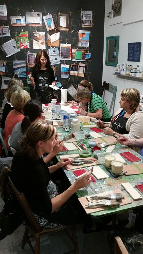 Chalk Paint™ workshop at Malenka Originals