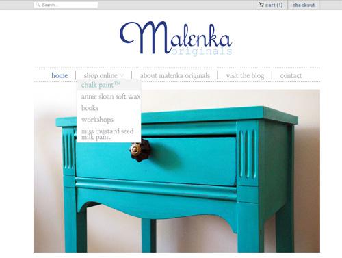 Malenka Originals online shop
