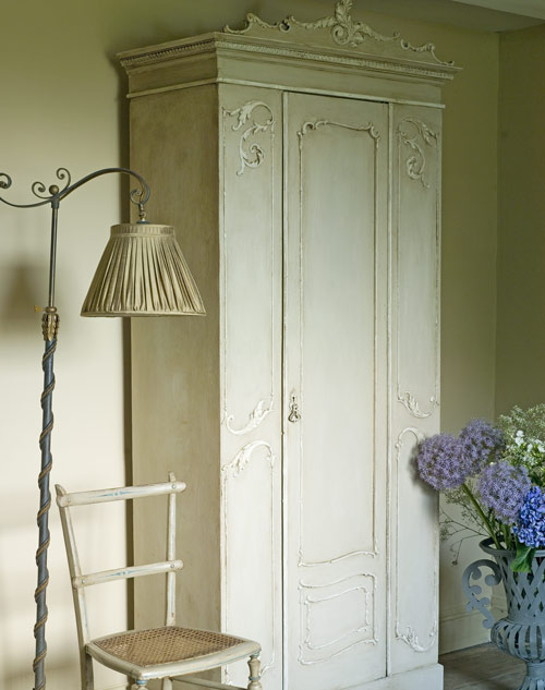 Annie Sloan's armoire from Creating the French Look