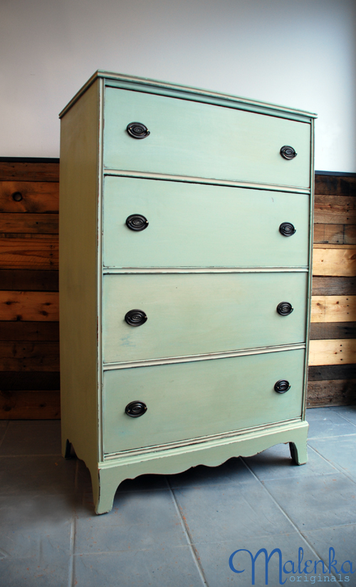 Minty Green Miss Mustard Seed Milk Paint