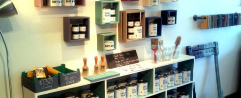 Malenka Originals paint display