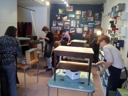 Malenka Originals' workshop