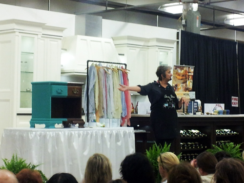 Annie Sloan at the Toronto Home Fall Show