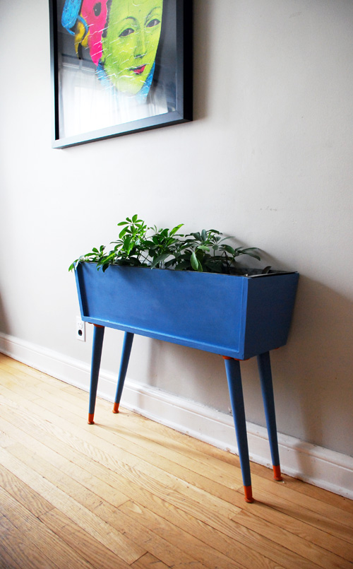 Planter in Greek Blue by Cristina Maal