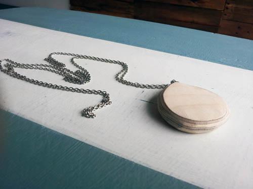 Taylor Norris necklace at Malenka Originals