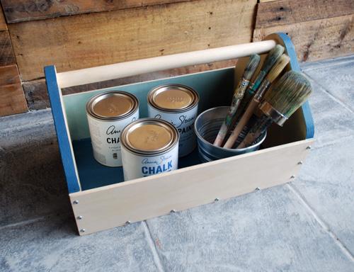 Reclaimed Wood Tool Box
