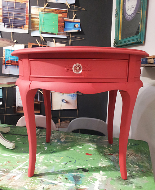 Coral Chalk Paint Mix Malenka Originals