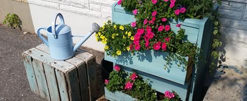 Malenka Originals flower planter