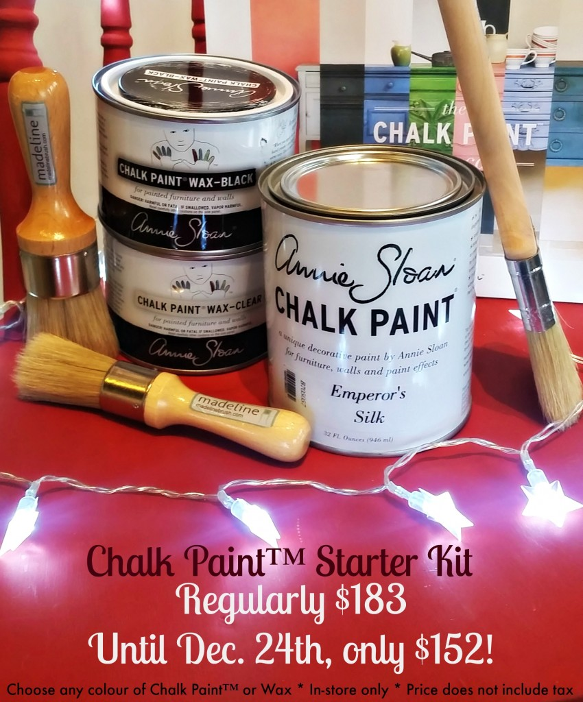It S Back The Christmas Chalk Paint Starter Kit