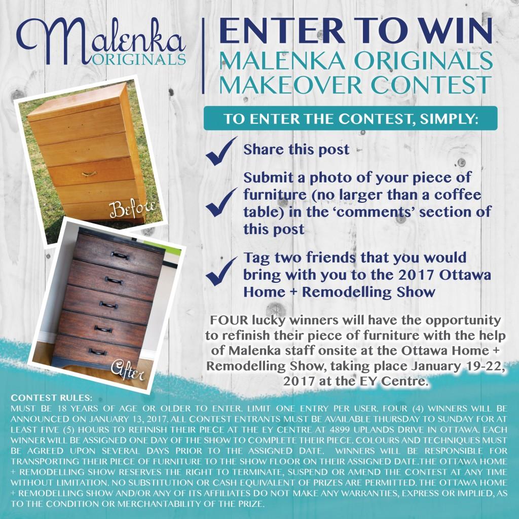 Malenka Originals makeover contest