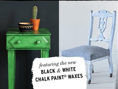 Black and White Wax