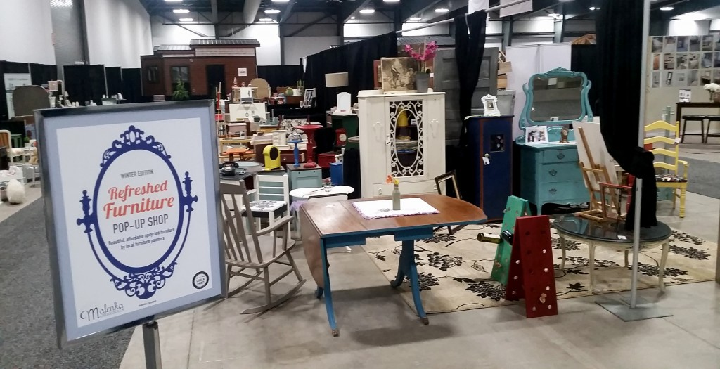Refreshed Furniture Pop-Up Shop Home and Remodelling Show 2017