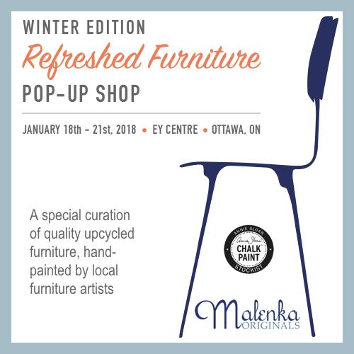 Refreshed Furniture Pop-Up Shop 2018