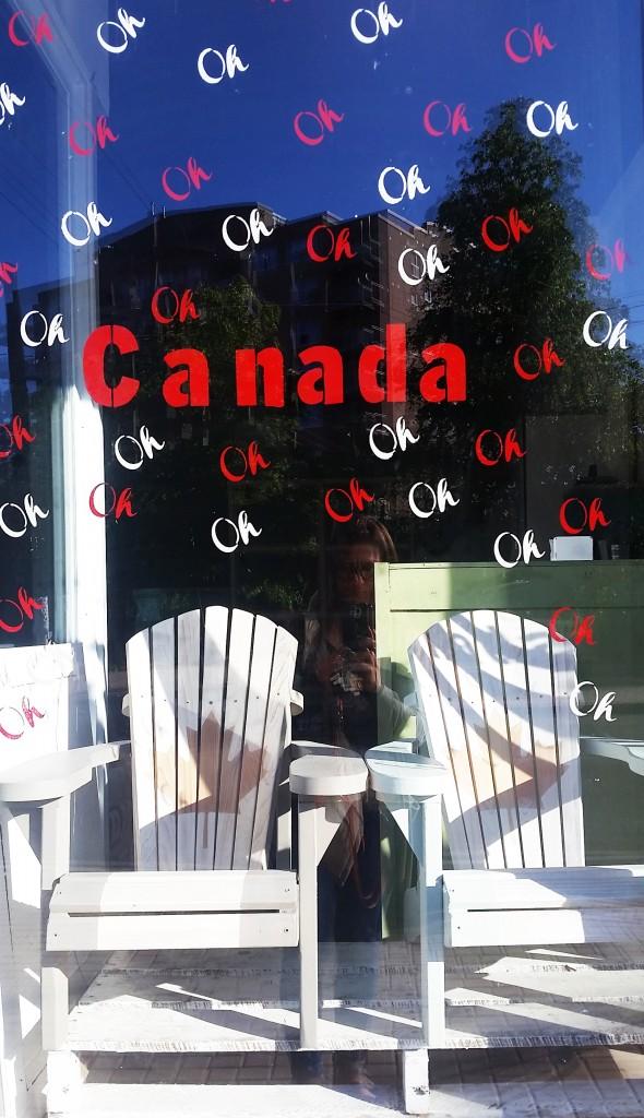 oh canada window